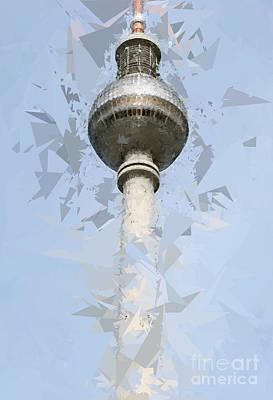 Fernsehturm Berlin Poster by Design Windmill