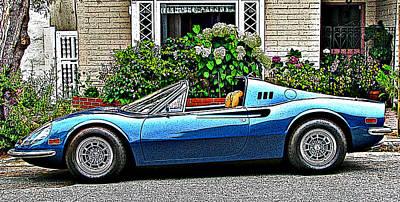 Ferrari 246 Gt Dino Poster