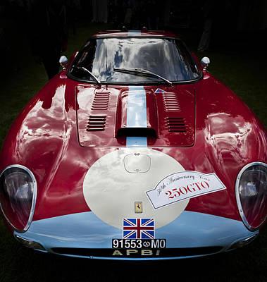 Ferrari 250 Gto Scaglietti 64 C Poster by Maj Seda