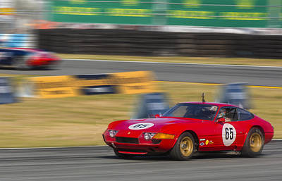 Ferrari 365 Gtb Daytona Poster