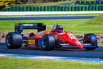 Ferrari At Phillip Island Poster