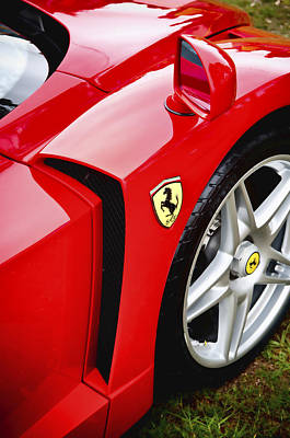 Ferrari Enzo Poster by Phil 'motography' Clark