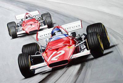 Ferrari  F1 1970 Poster