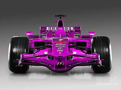 Ferrari Formula 1 Poster