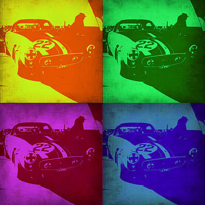 Ferrari Gto Pop Art 1 Poster by Naxart Studio