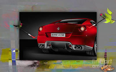 Ferrari Touch Up Poster by Marvin Blaine