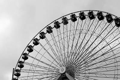 Ferris Wheel Poster by A K Dayton