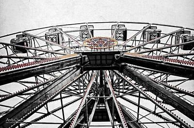 Ferris Wheel Lights Poster