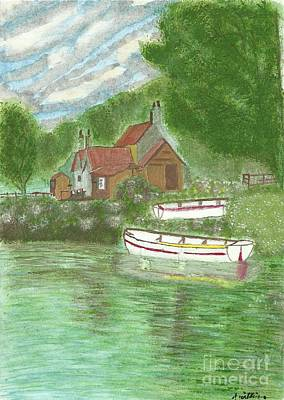 Ferryman's Cottage Poster by Tracey Williams