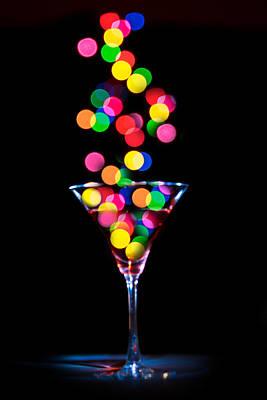 Festive Martini Poster