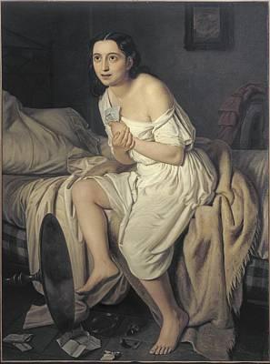 Fiamminghi, Giacomo 1815 - 1895. Love Poster