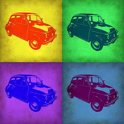 Fiat 500 Pop Art 1 Poster