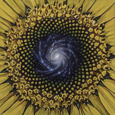 Fibonaccis Mandela V.2 Poster by Simon Kregar