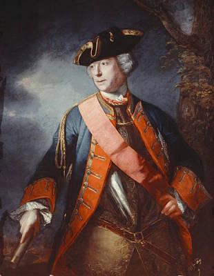 Field Marshal Jean Louis Ligonier C.1755 Poster