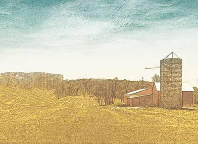 Field Of Plenty Poster by Lisa Brandel