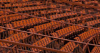 Field Seats Mets Shea Stadium Poster