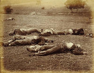 Field Where General Reynolds Fell, Gettysburg Timothy H Poster