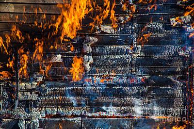 Fiery Transformation Poster