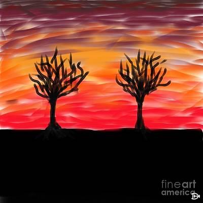 Fiery Twins Poster