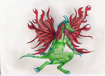 Fiery Wings Poster