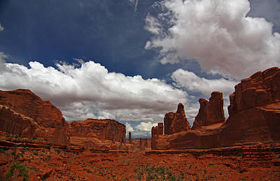 Fifth Avenue In Arches National Park Poster