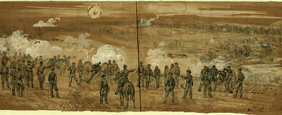 Fight At Kellys Ford Sleepers Battery, 1863 November 7 Poster