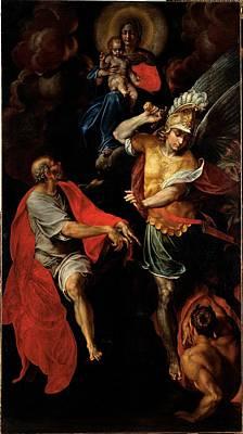 Figino Giovanni Ambrogio, Madonna Poster by Everett