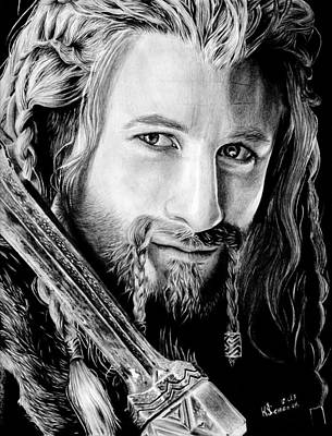 Fili The Dwarf Poster by Kayleigh Semeniuk