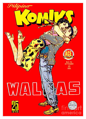 Filipino Comics Poster by Jonas Luis