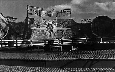 Film Noir Tyrone Power Coleen Gray Nightmare Alley 1947 Midway Arizona State Fair Phoenix 1980 Poster