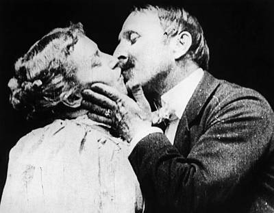 Film The Kiss, 1896 Poster