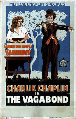 Film The Vagabond, 1916 Poster