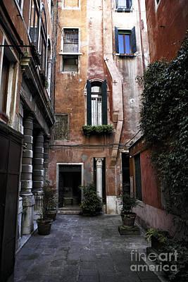 Final Destination In Venice Poster by John Rizzuto