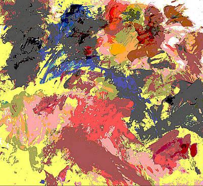 Fine Art Digital Palette 0848b Poster