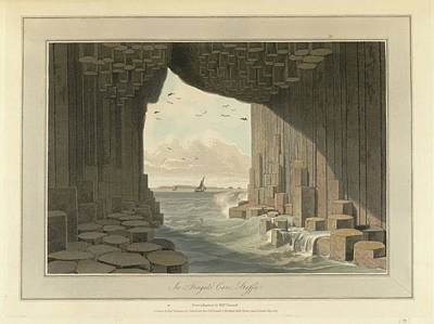 Fingal's Cave Poster by British Library