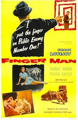 Finger Man, Us Poster, Bottom Inset Poster