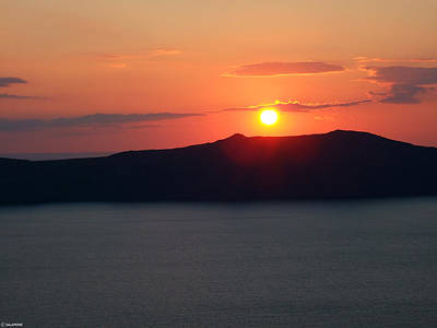 Firastefani Sunset Poster