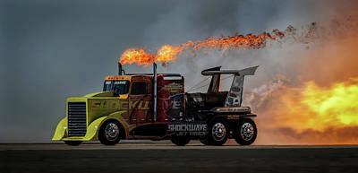 Fire & Speed - Mcas Miramar Air Show Poster