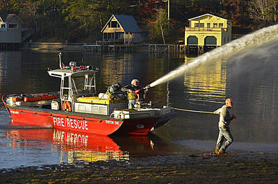 Fire Boat Poster