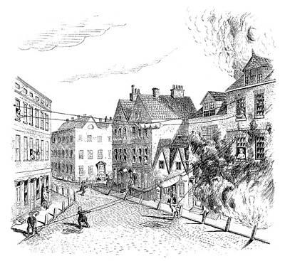 Fire Escape, 1767 Poster by Granger