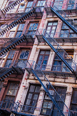 Fire Escape Poster by Chris McKenna