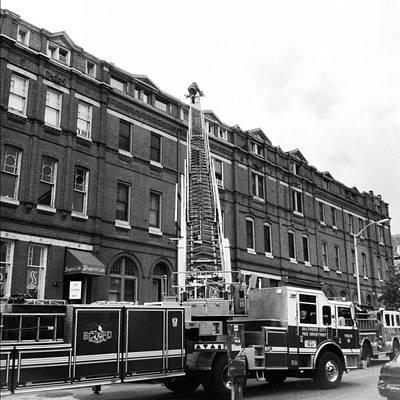 Fire On Preston Street Poster