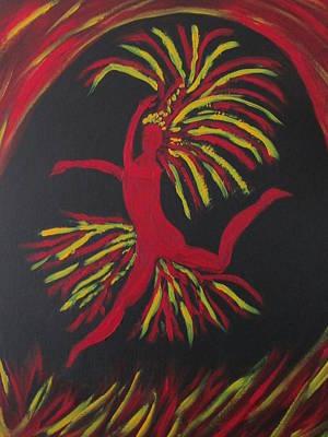 Firebird Poster by Sharyn Winters