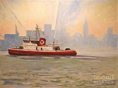 Fireboat John D. Mckean Poster