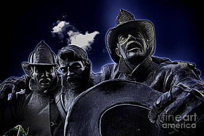 Firefighter Heroes Poster