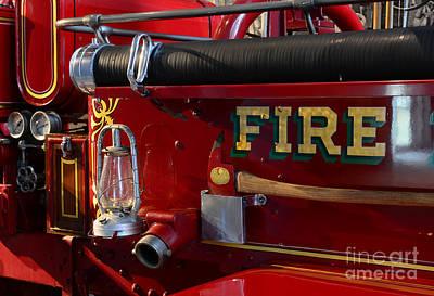 Fireman - The Fire Axe Poster by Paul Ward