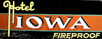 Fireproof- Hotel Iowa Poster
