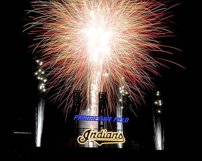 Fireworks Finale Poster by Frozen in Time Fine Art Photography