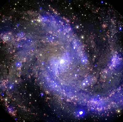 Fireworks Galaxy Poster