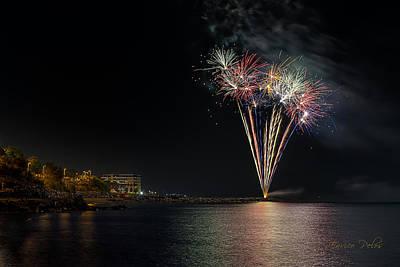 Fireworks San Lorenzo Al Mare 2013 1970 - Ph Enrico Pelos Poster